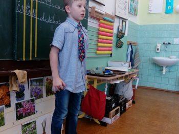 Školní kolo recitace