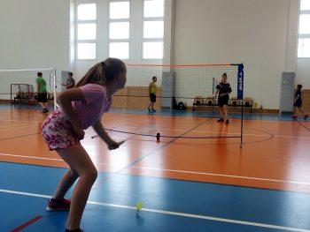 Turnaj rodičů a dětí v badmintonu