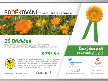 Poděkování – Český den boje proti rakovině 2020