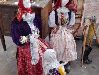 Návštěva externí expozice textilnictví v Hedvě Rýmařov