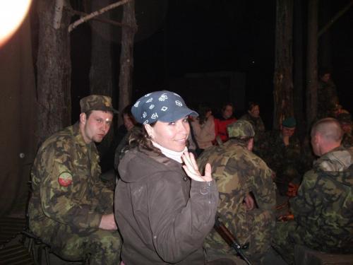 Branný kurz s vojáky 2010