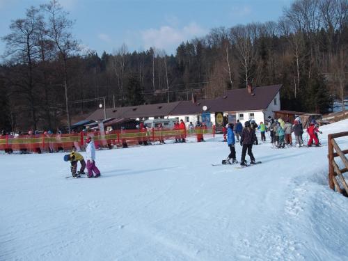 """Kurz sjezdového lyžování v rámci projektu """"Školička sportu v zimě i v létě"""""""